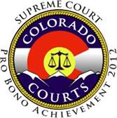 Pro Bono Achievement Seal Supreme Court of Colorado